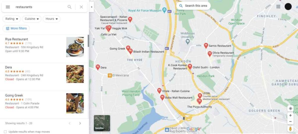 Google My Business Reviews help ranking